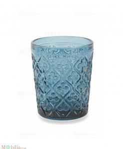 bicchieri acqua marrakech blu