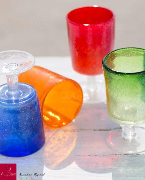 bicchieri malibu colorati