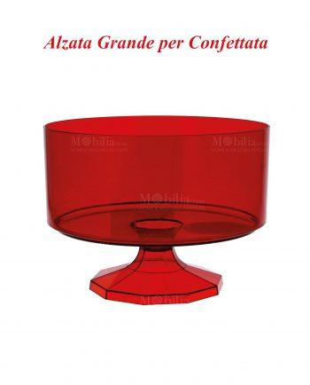 Contenitori confettata Rossi Grandi