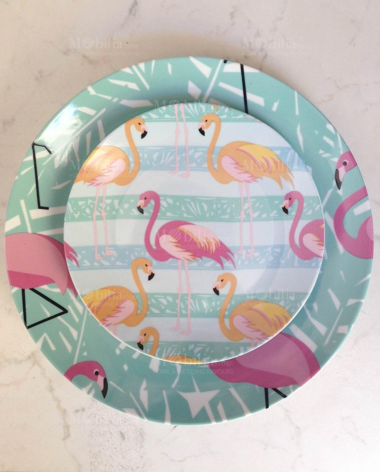 Servizio piatti villa d 39 este flamingo 18 pz mobilia - Servizio di piatti ikea ...