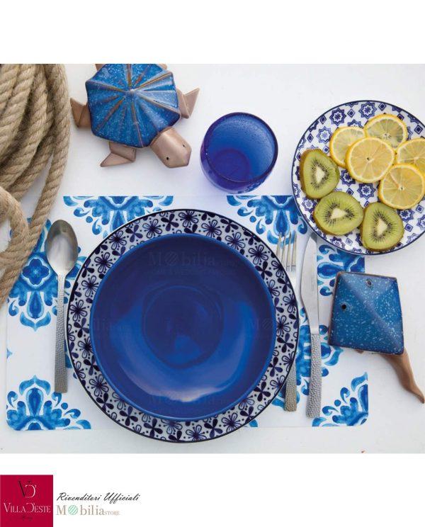 Set di Piatti 18 Pezzi Azul Villa d'Este