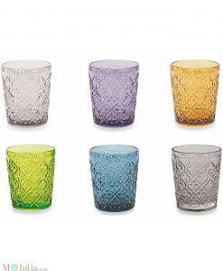 Bicchieri per Acqua Colorati Marrakech Villa d'Este