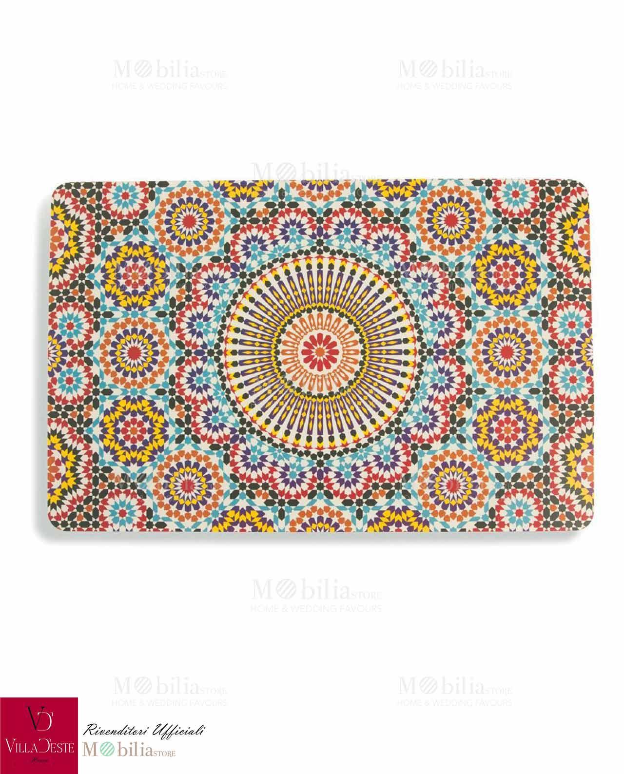 Apparecchiare con le tovagliette marrakech villa d 39 este - Set de table design plastique ...