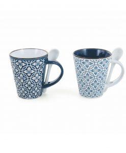 tazze mug ceramica azul villa deste