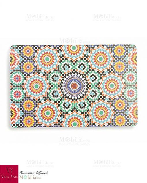 tovagliette ispirate a marrakech villa deste