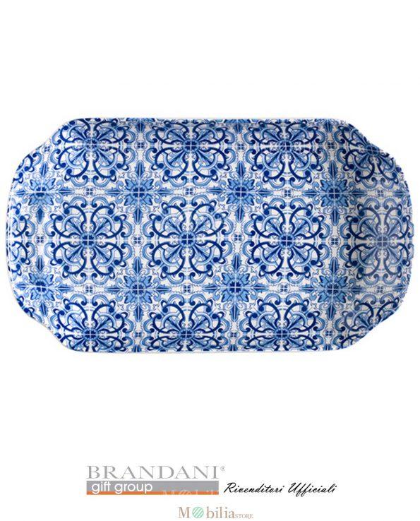 Vassoio Decorato Maiolica Brandani