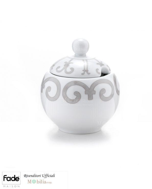 Zuccheriera Porcellana Barocco Fade