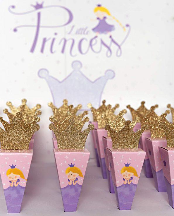 12 Adesivi Corona Principessa