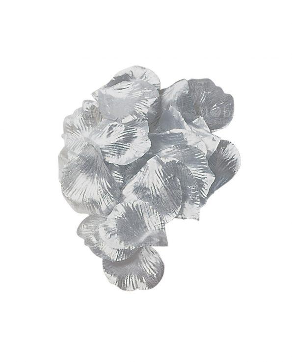 Petali di Rosa in tessuto Argento