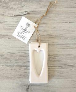 Segnaposto cuore cartai bassanesi con certificato