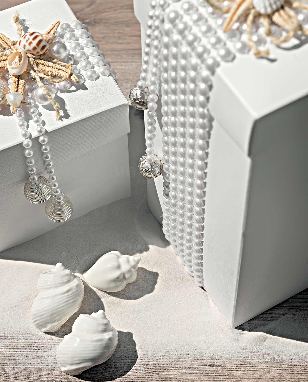 Decorazioni con conchiglie di mare di parete vuota - Decorazioni marine fai da te ...