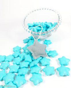 confetti stella azzurri al cioccolato