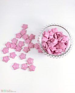 confetti stella rosa