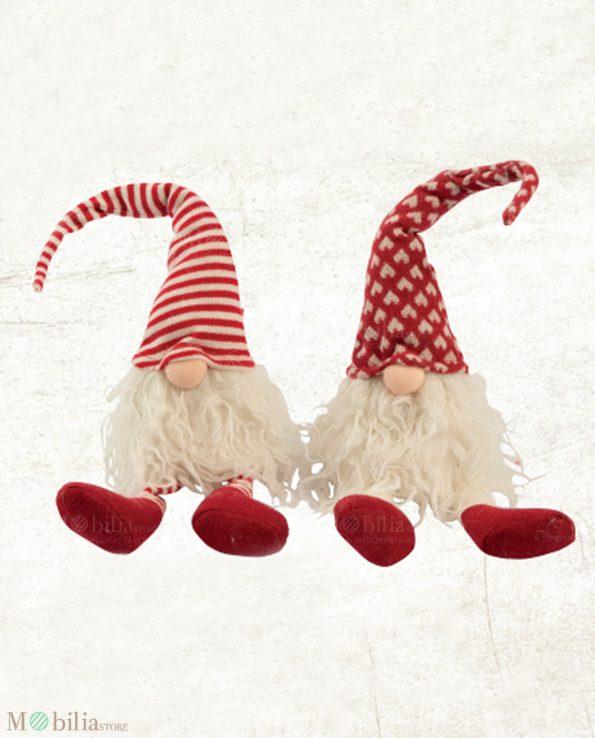 Set 2 Gnomi Natale