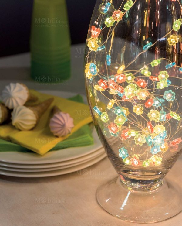 Catena luci esterno Multicolor