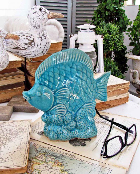 Decorazioni Casa Pesci in Ceramica