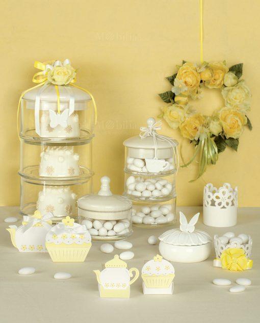 scatoline a forma di cupcake cartai bassanesi