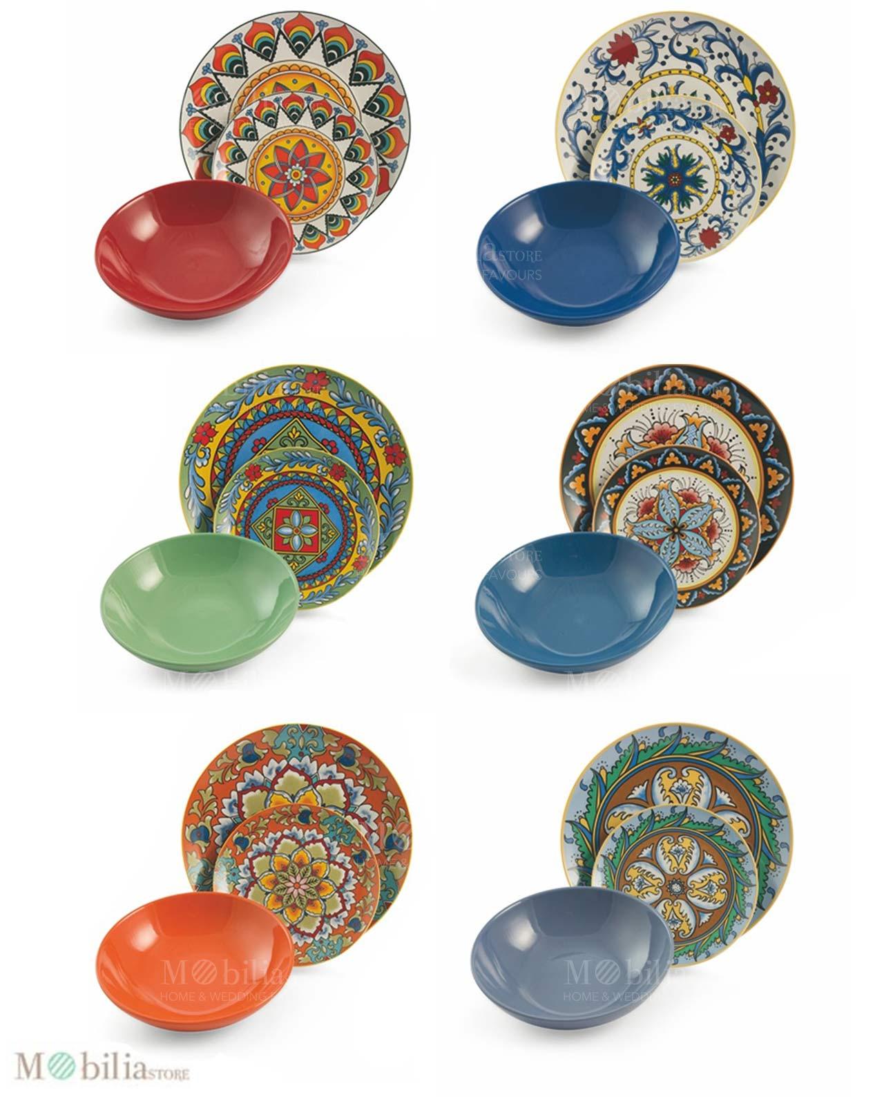 servizio piatti colorati cucina - 28 images - stunning servizio ...