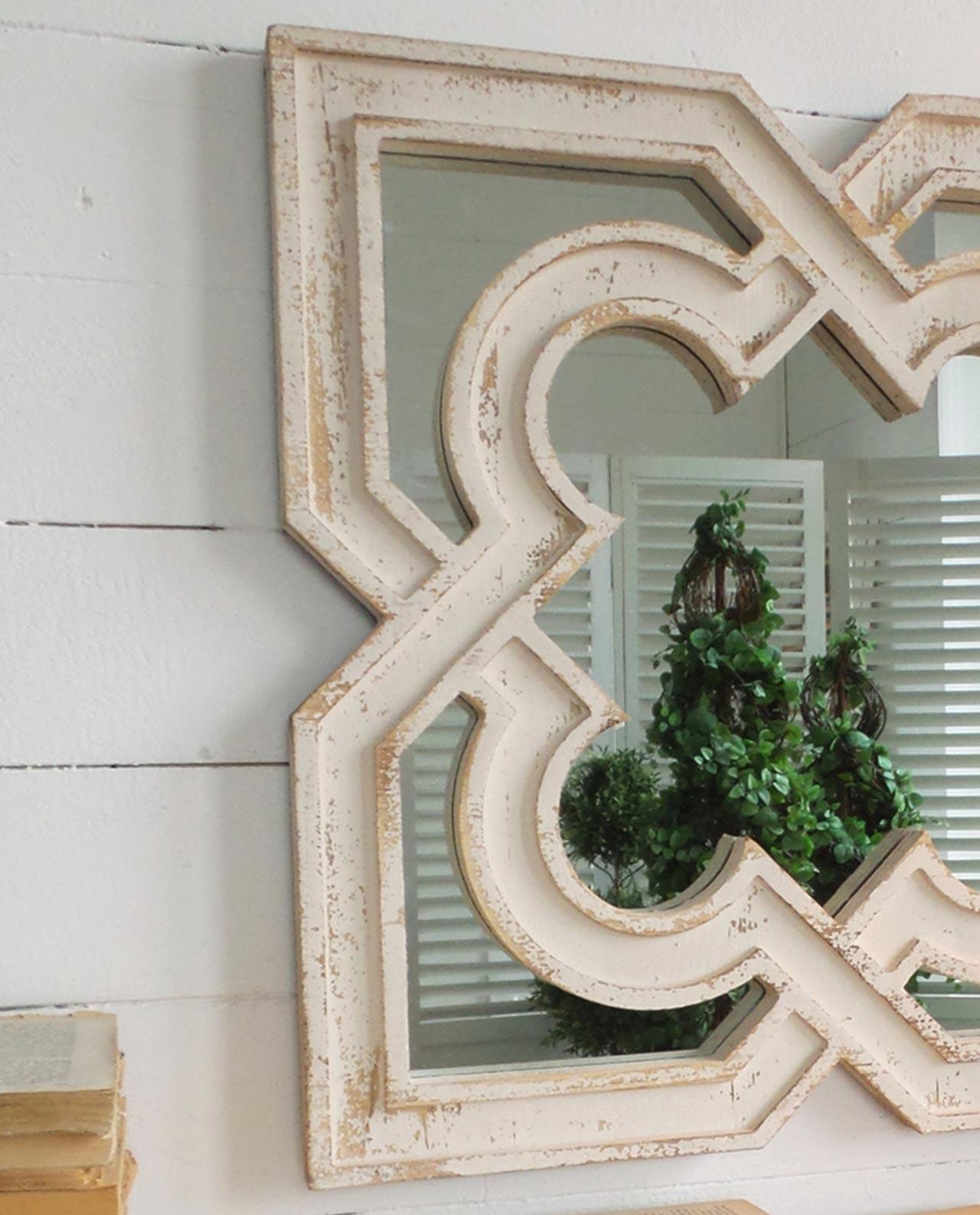 Specchi particolari da parete in legno intagliato - Specchio in legno ...