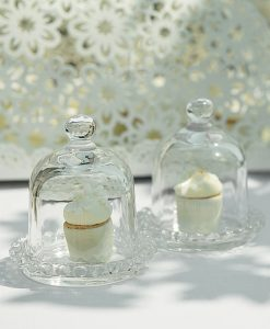Tortiera Vetro per Wedding Decoration