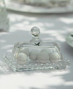 tortiera piccola vetro cartai bassanesi