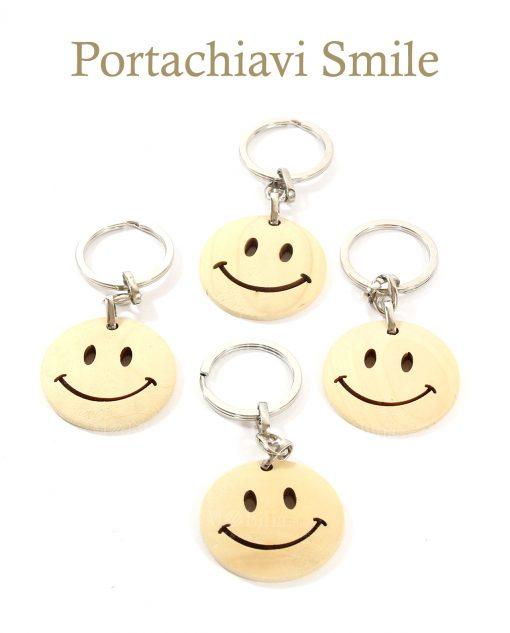 set 24 portachiavi smile