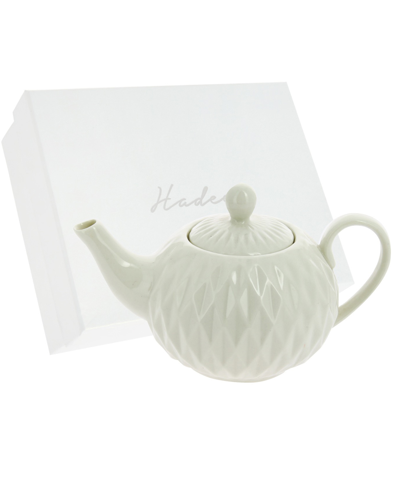 Teiera in porcellana bianca - Mobilia Store Home & Favours