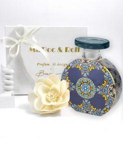 bomboniera diffusure per ambienti bottiglia grace 375 ml foulard maroc e roll baci milano