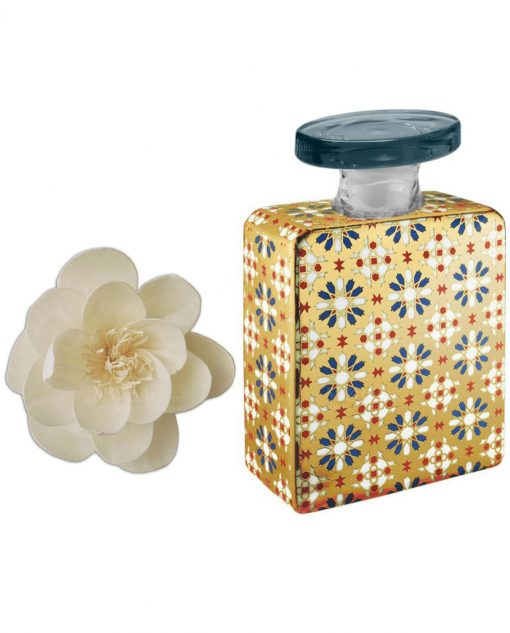 bottiglia bruce 375 ml con fiore 9 cm