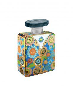 bottiglia in vetro decorato 375 ml jagger baci milano