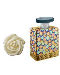 bottiglia jett 175 ml con fiore 7 cm