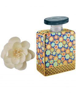 bottiglia jett 375 ml con fiore 9 cm