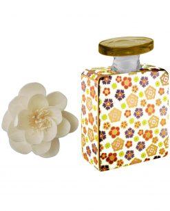 bottiglia joplin 375 ml con fiore 9 cm