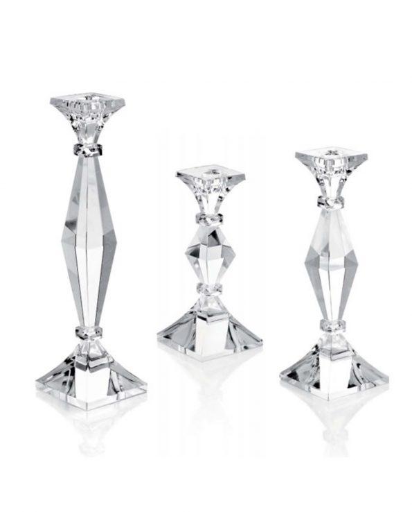 Candeliere in cristallo Ottaviani varie misure