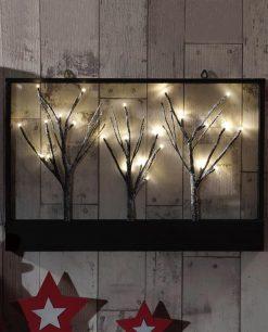 decorazione natalizia con luci