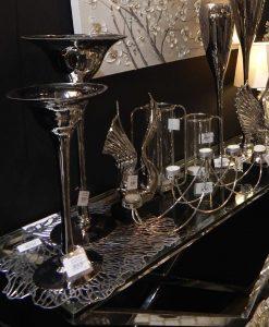 decorazioni natalizie color argento