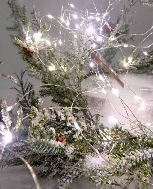 mini lucciole per decorare 100 led