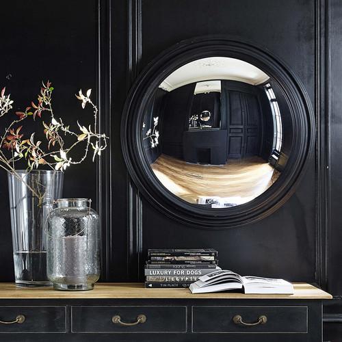 128d7eddaf specchio convesso nero in legno d 90 cm vendome 500 14 19 155122 10
