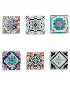 Sottopentola quadrato in ceramica
