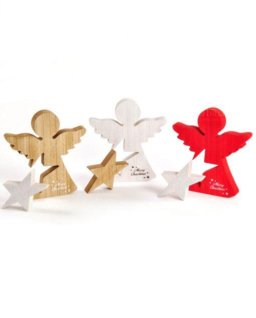 angeli legno assortiti