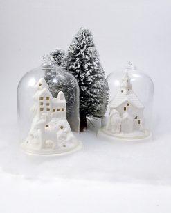 campane vetro natalizie