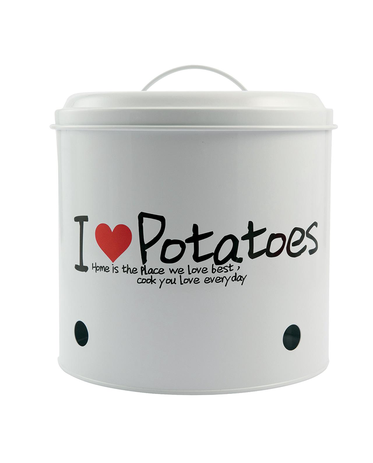 Contenitore per patate in latta villa d 39 este mobilia for Mobilia recensioni