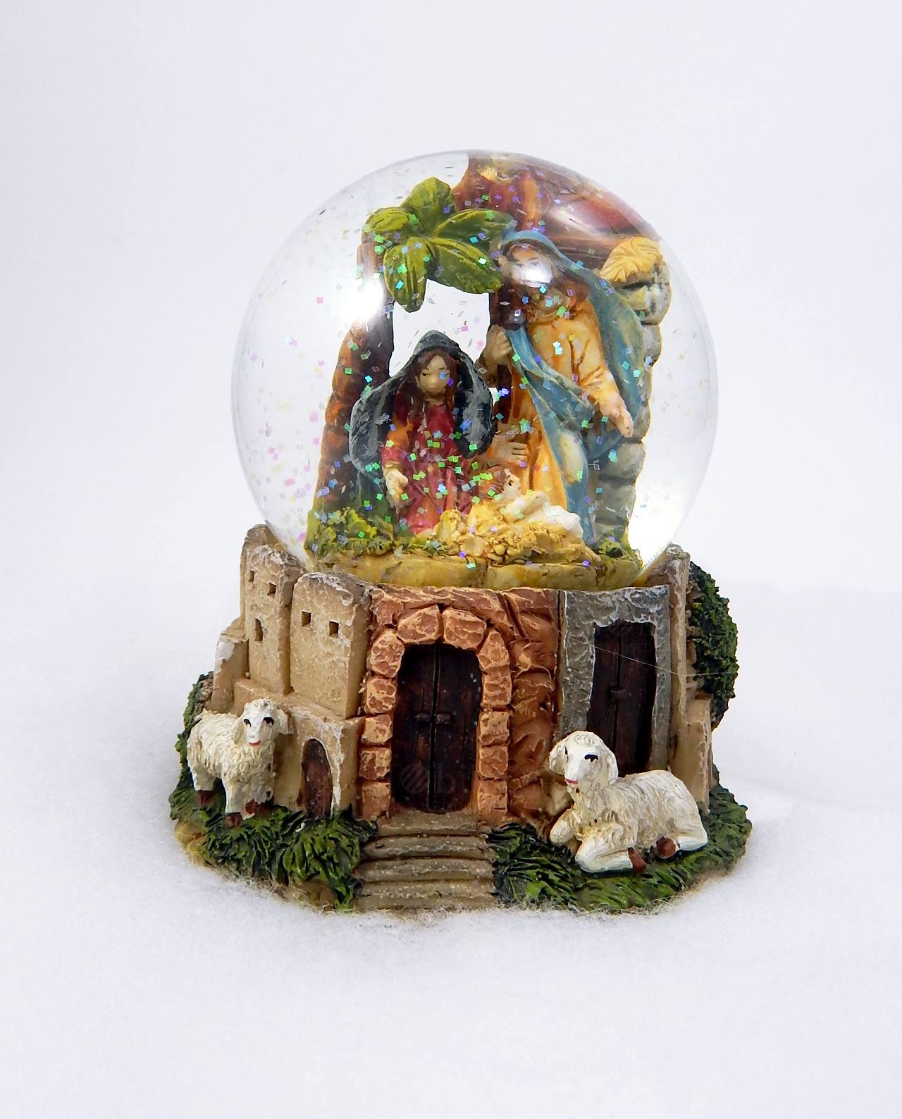 Sfera vetro sacra famiglia mobilia store home favours for Mobilia recensioni