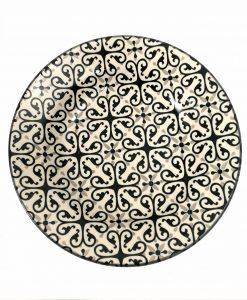 piatto fondo in ceramica Alhambra Brandani