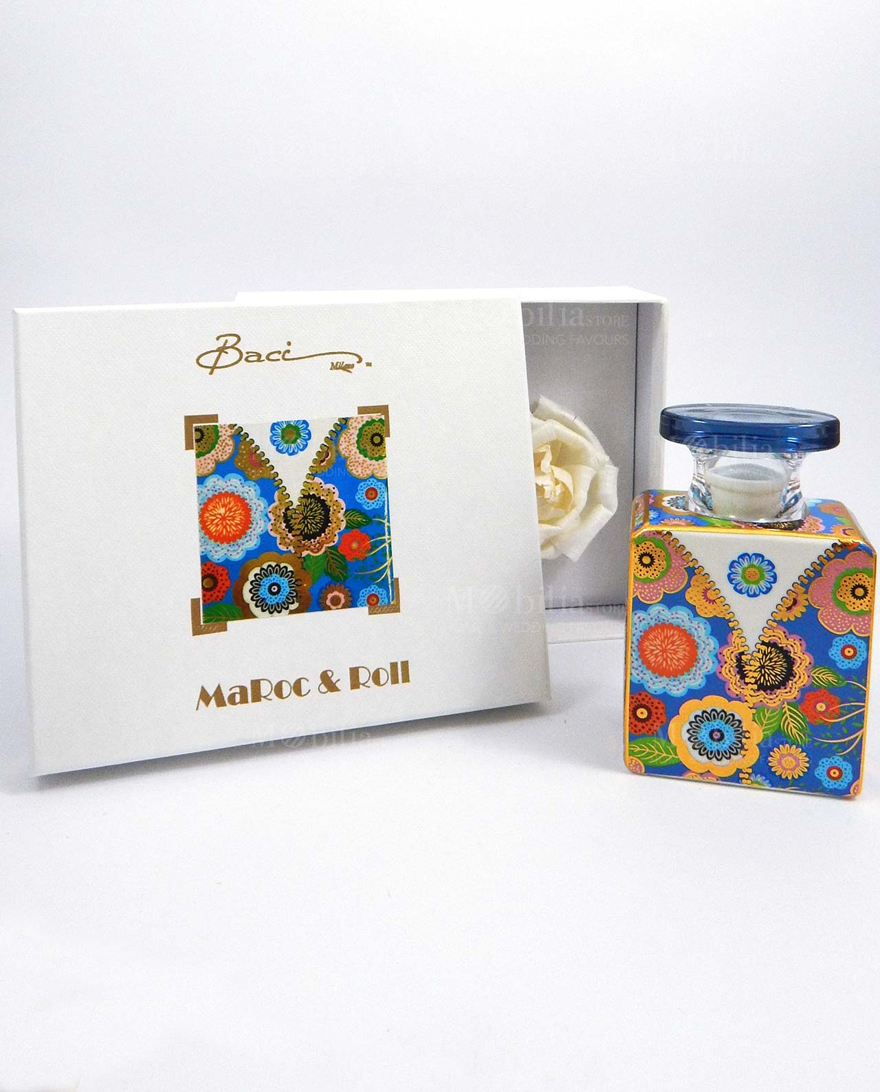 Bottiglia Diffusore Ambiente Baci Milano Maroc E Roll