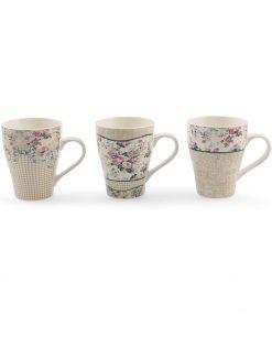 tazza mug con fiori villa deste