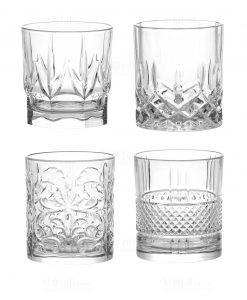 bicchieri acqua set 4 pezzi linea spirits brandani