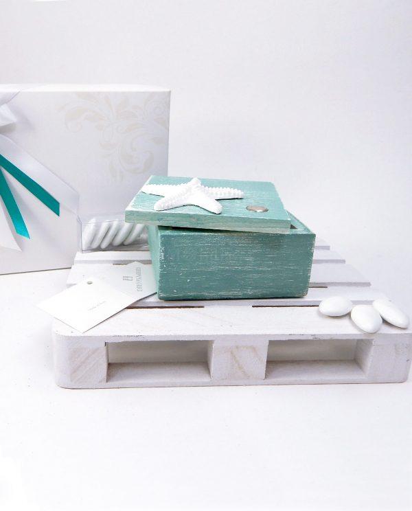 scatolina legno tiffany on stella marina bianca carlo pignatelli