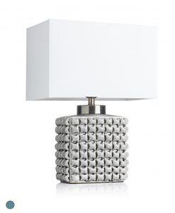 lampada da tavolo in ceramica linea lithops brandani