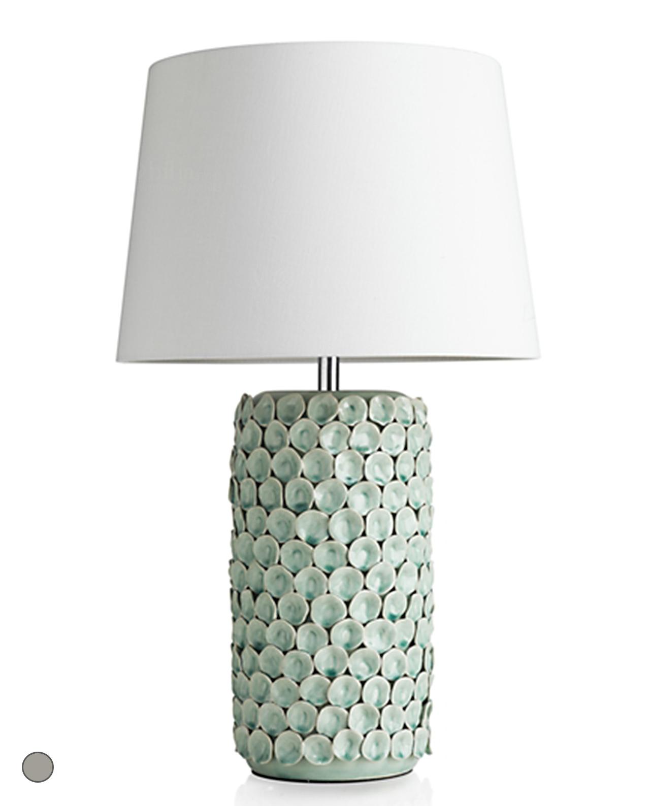 Brandani Lampada Da Terra.Lampada Da Tavolo Ceramica Decorata Petali Brandani Mobilia Store